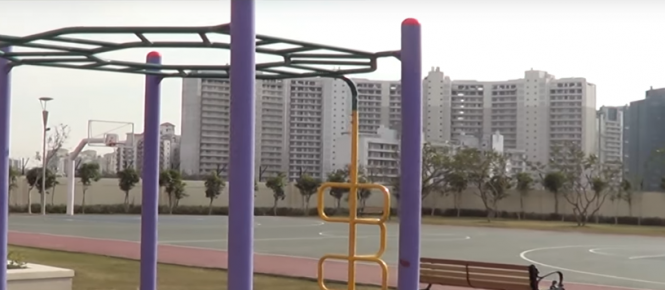 park-place Basketball Court