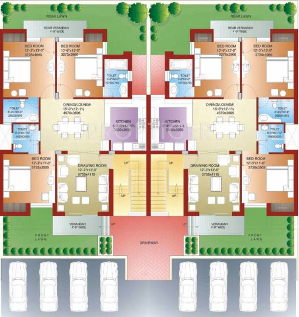 Images for Cluster Plan of Parsvnath Royale Floors