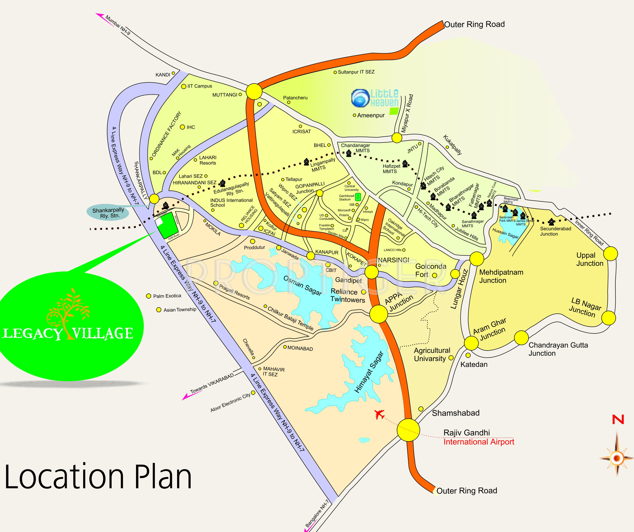 3645 Sq Ft Plot For Sale In M3v Jubilee Legacy Village