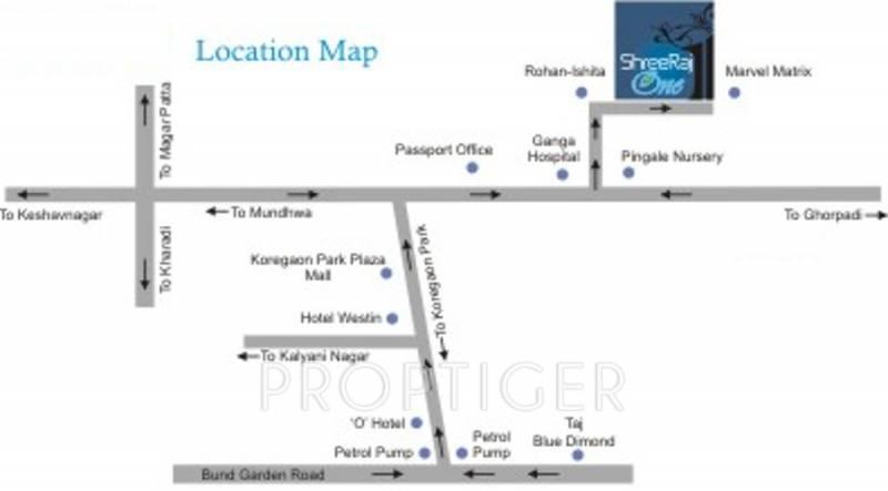 Images for Location Plan of Shreeraj Realtors One