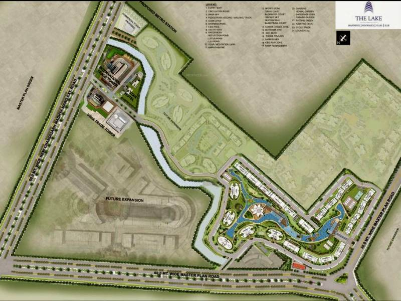 Images for Site Plan of Omaxe The Lake