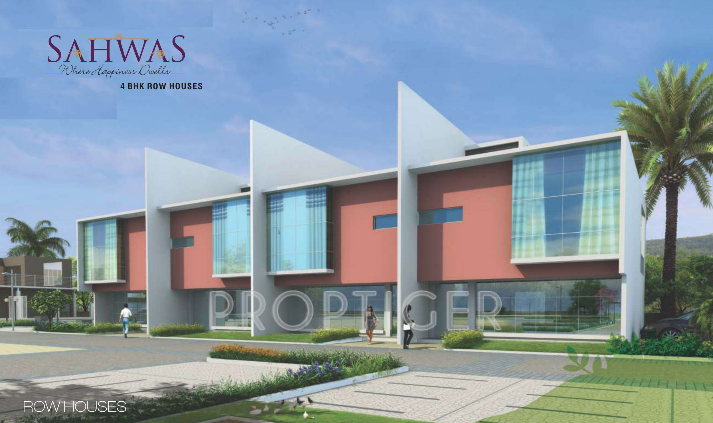 Single Floor Row House Elevation : Sq ft bhk t villa for sale in rainbow housing