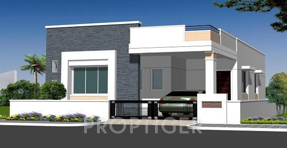 Front Elevation Of 2 Bhk House : Sq ft bhk t villa for sale in rainbow
