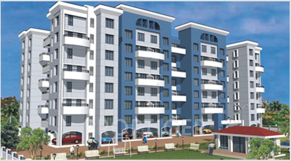 Main elevation image of arun sane shraddha terrace unit for Terrace elevation
