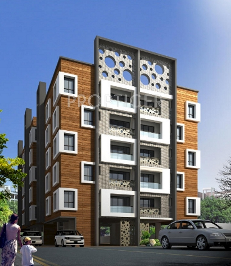 3 Floor Apartment Elevation : Sq ft bhk t apartment for sale in shivoham