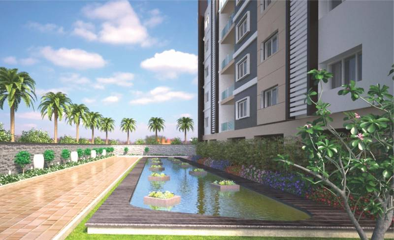 Image of swimming pool of anuhar homes meda heights - Swimming pool construction cost in hyderabad ...