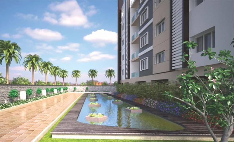 Image Of Swimming Pool Of Anuhar Meda Heights Miyapur Hyderabad
