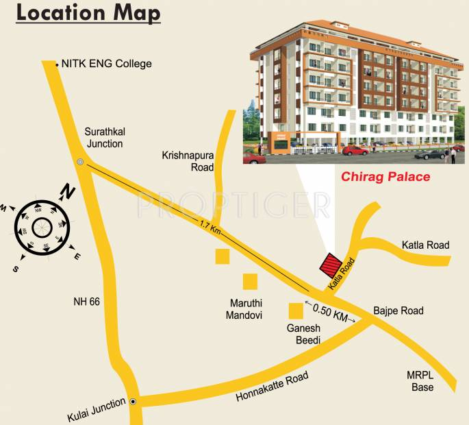 Images for Location Plan of Chirag Palace