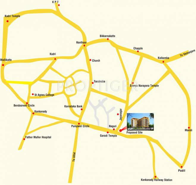 Images for Location Plan of Chirag Ballal Sanil Plaza