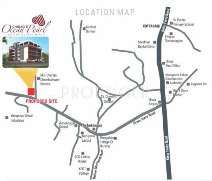 Images for Location Plan of Chirag Ocean Pearl