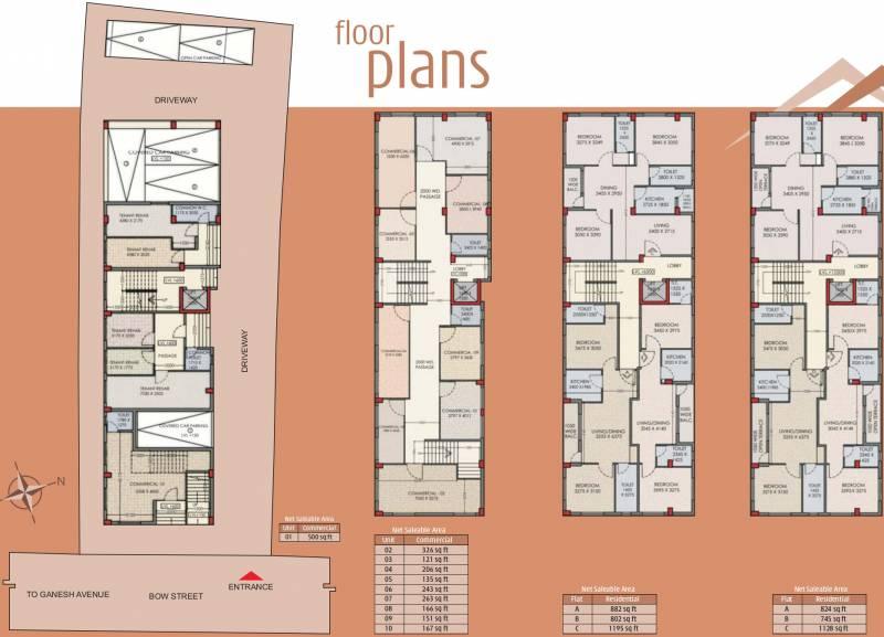 Images for Cluster Plan of Jaetal Tower