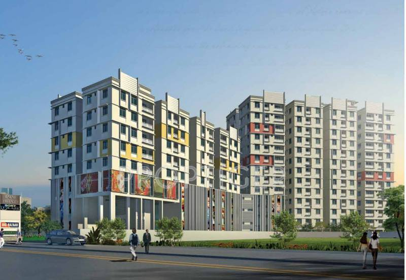 Images for Elevation of Jaetal Group Balaji Hill City Appartment