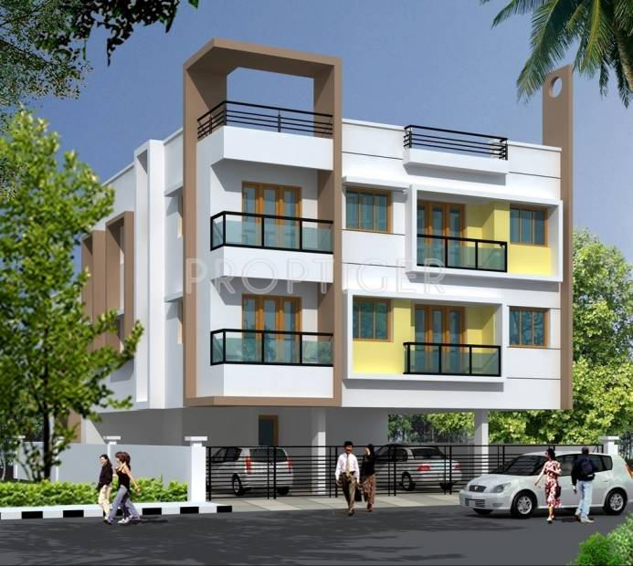 Images for Elevation of Lakshmi Builders Balamurugan Nagar