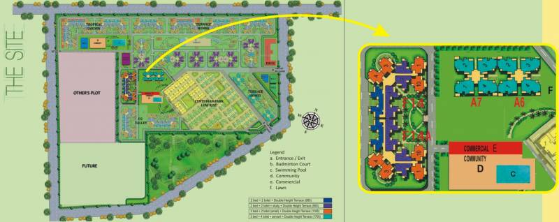 Images for Site Plan of Amrapali Courtyard