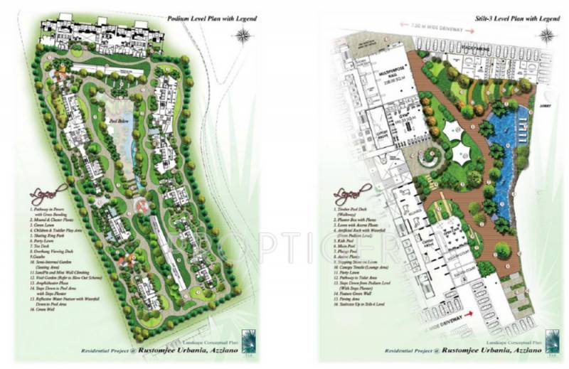 Images for Layout Plan of Rustomjee Rustomjee Azziano Wing H