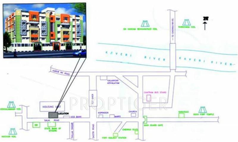 Images for Location Plan of Smart Associates Gloriosa Tower