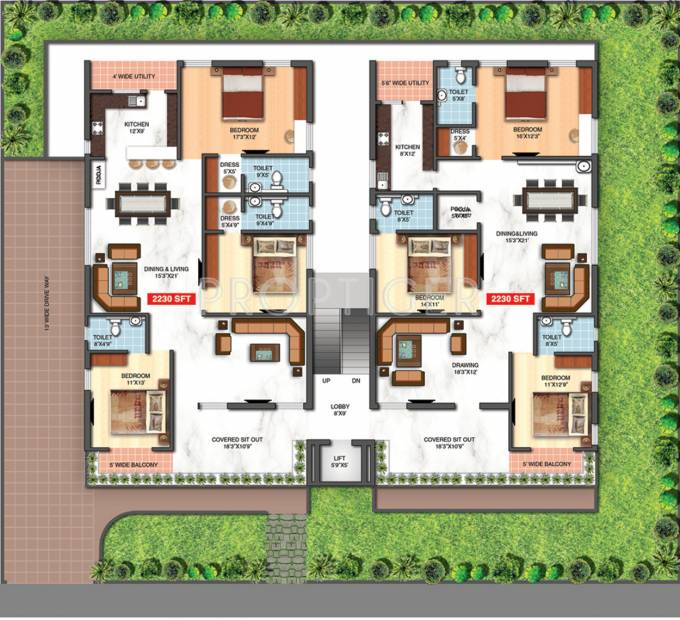 Images for Cluster Plan of Reliance Developers Avans Bliss