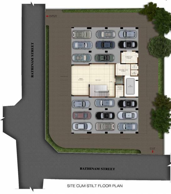 Images for Cluster Plan of Casagrand Joybijoy