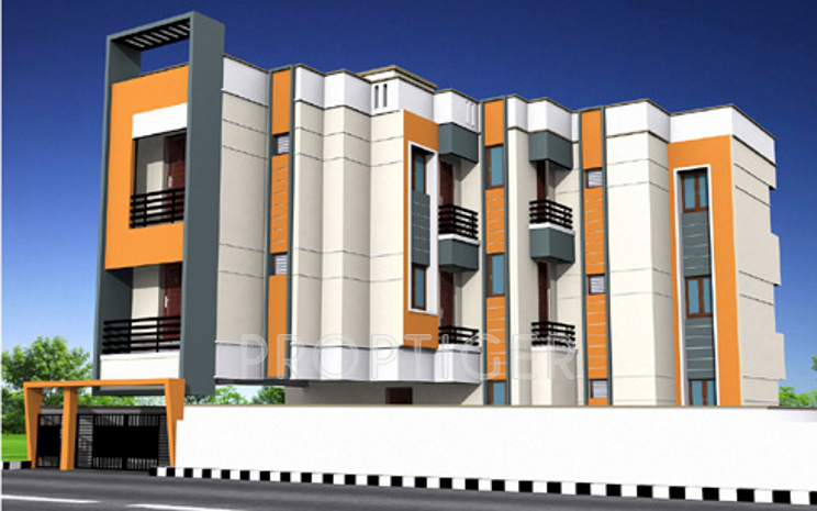 Images for Elevation of Amman Dharsha Homes