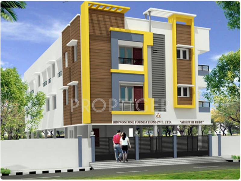 Images for Elevation of Brownstone Adithi Ruby
