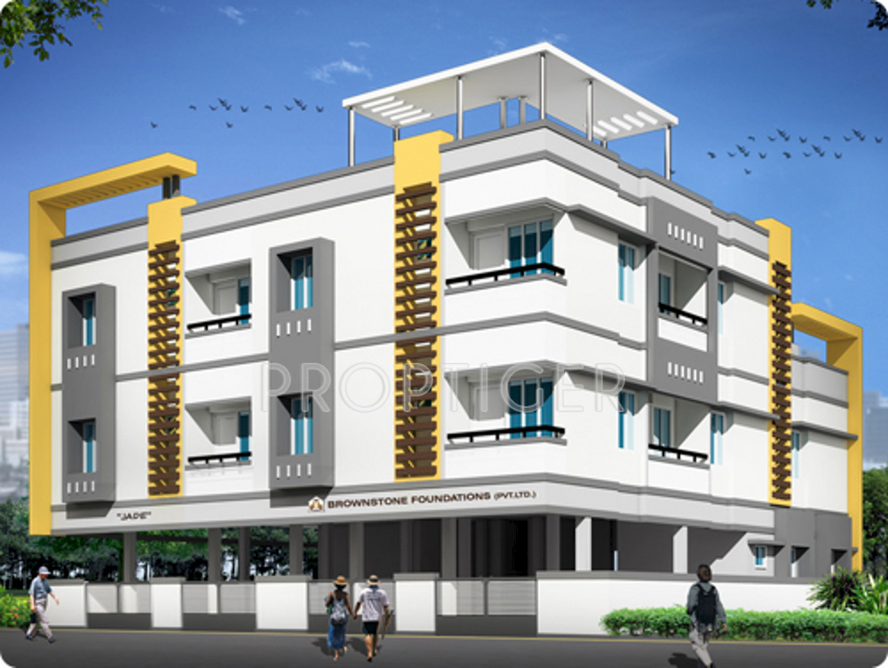 Elevation Stone Chennai : Bhk cluster plan image brownstone jade for sale at