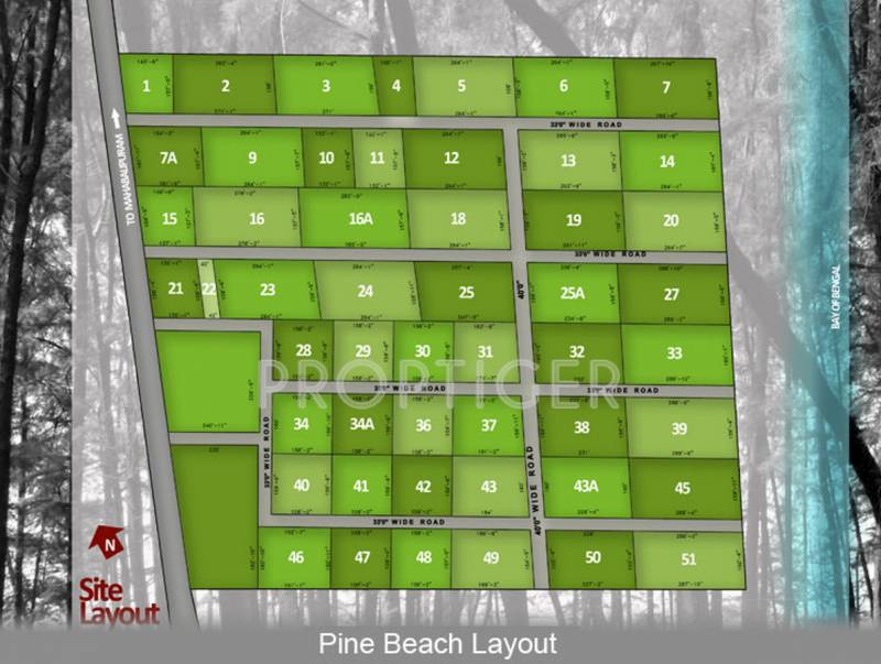 Images for Layout Plan of Olive Pine Beach