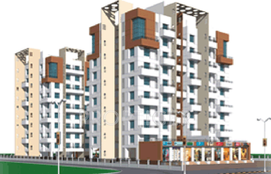 Wood Elevation Network : Sq ft bhk t apartment for sale in achalare realtors