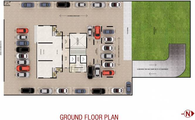 Images for Cluster Plan of Sumit Sumit Garden Grove