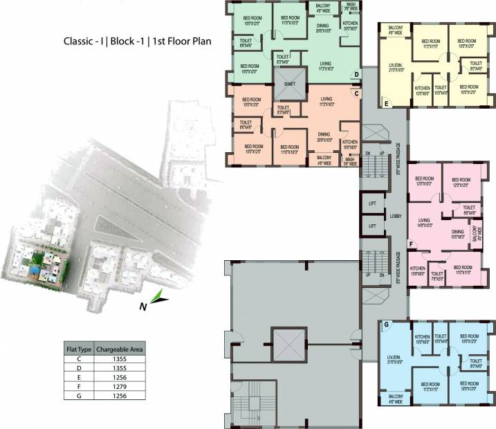 Images for Cluster Plan of Unimark Unimark Springfield
