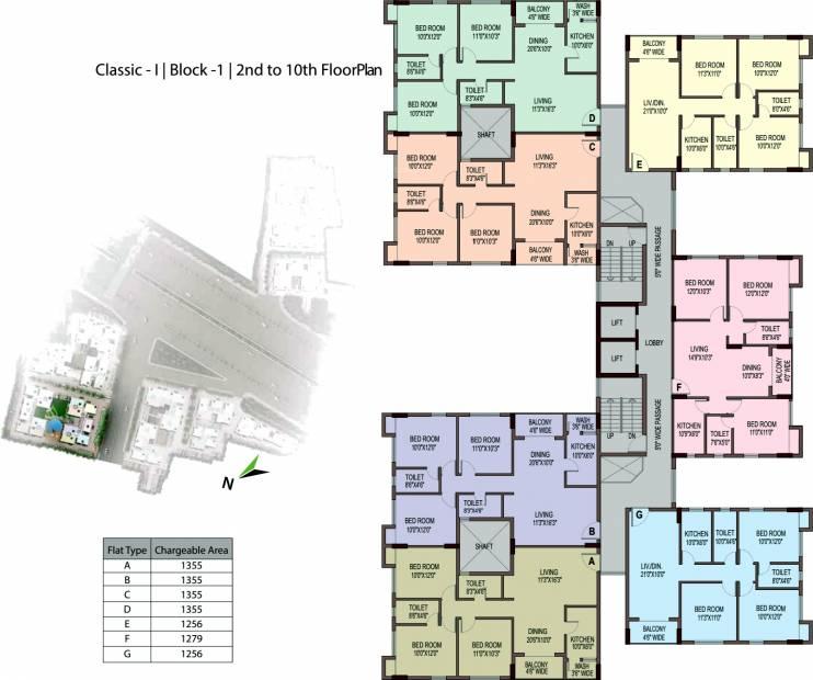 Images for Cluster Plan of Unimark Unimark Springfield