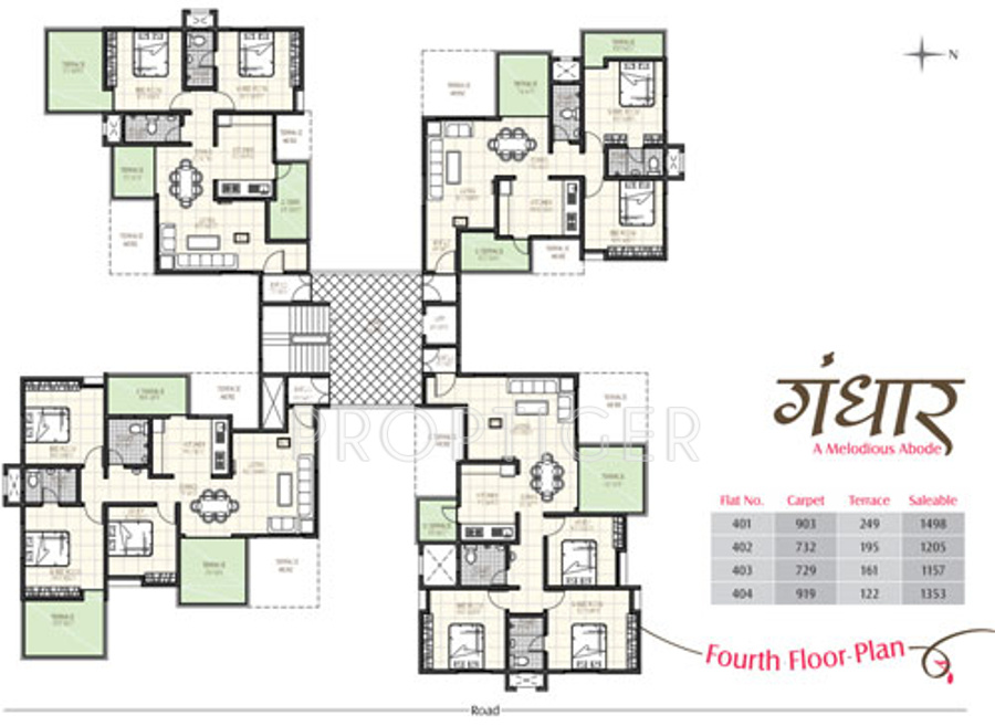 Alliance gandhaar in balewadi pune price location map for Alliance flooring