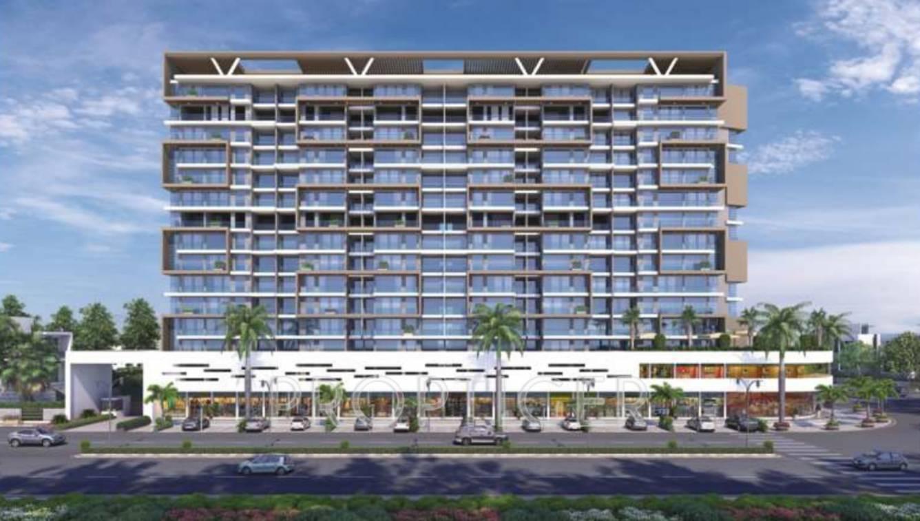 Homefront Tower Elevation : Rehab balaji delta tower in ulwe mumbai price