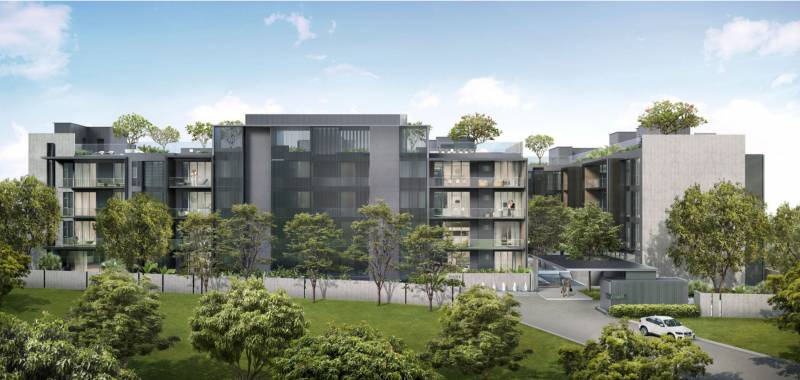Images for Elevation of Olympia Park Residence