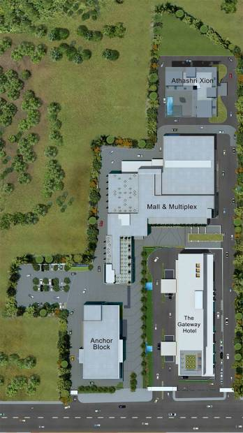 Images for Site Plan of Paranjape Athashri Xion