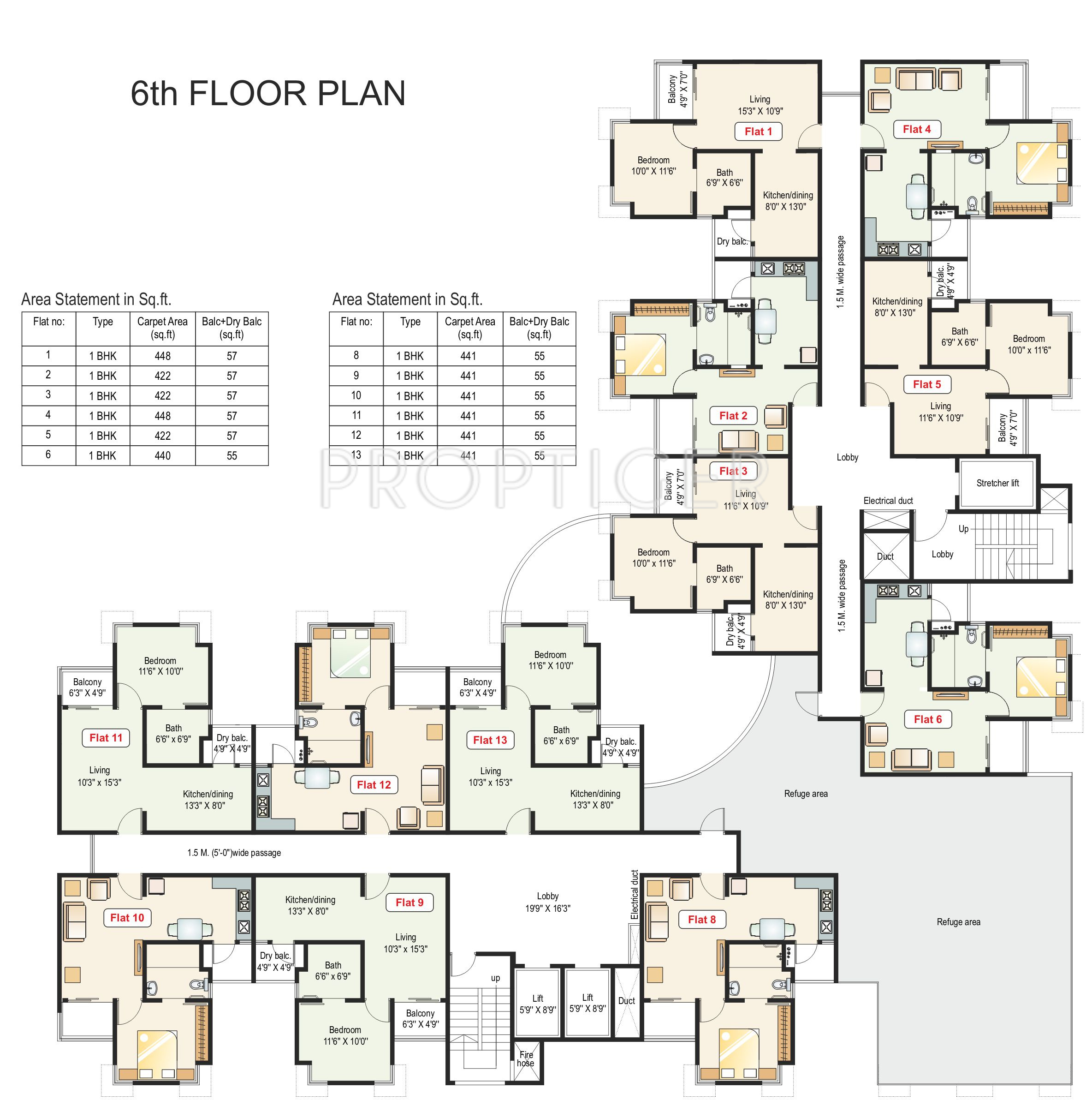 925 Sq Ft 2 Bhk 2t Apartment For Sale In Paranjape Schemes