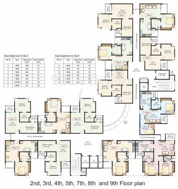 Images for Cluster Plan of Paranjape Athashri Xion