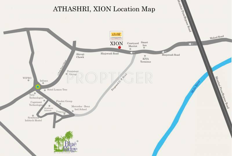 Images for Location Plan of Paranjape Athashri Xion
