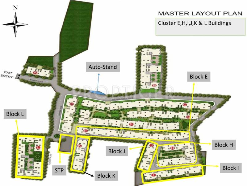 Images for Master Plan of Mahindra Happinest
