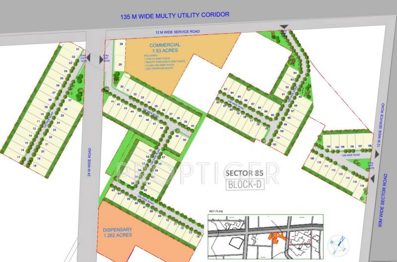 Images for Layout Plan of SS City Plots