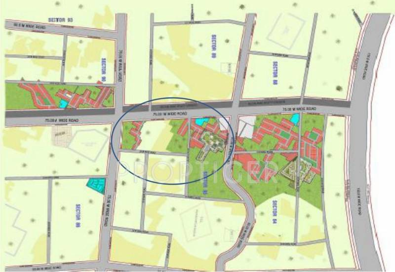 Images for Master Plan of SS City Plots
