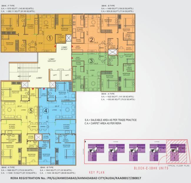 Images for Cluster Plan of Bakeri Sivanta