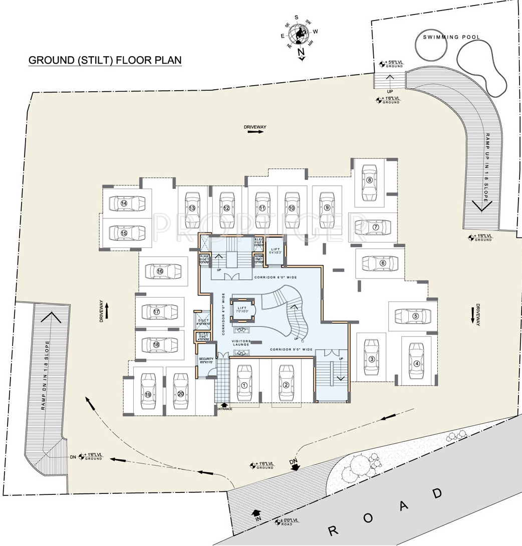 compare in land echelon vs land trades maurishka palace which