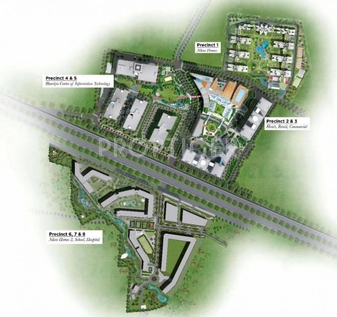 Images for Master Plan of Bhartiya Leela Residences