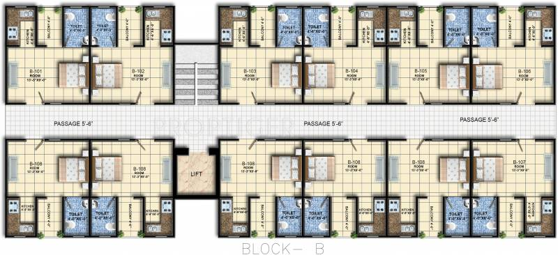 Images for Cluster Plan of Vrg Infratech Vivaan Heights