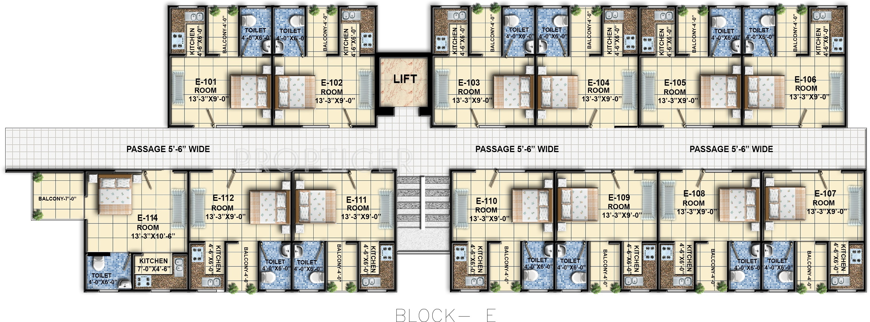 350 Sq Ft 1 Bhk 1t Apartment For Sale In Vrg Infratech And