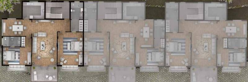 Images for Cluster Plan of Silverglades Hill Home