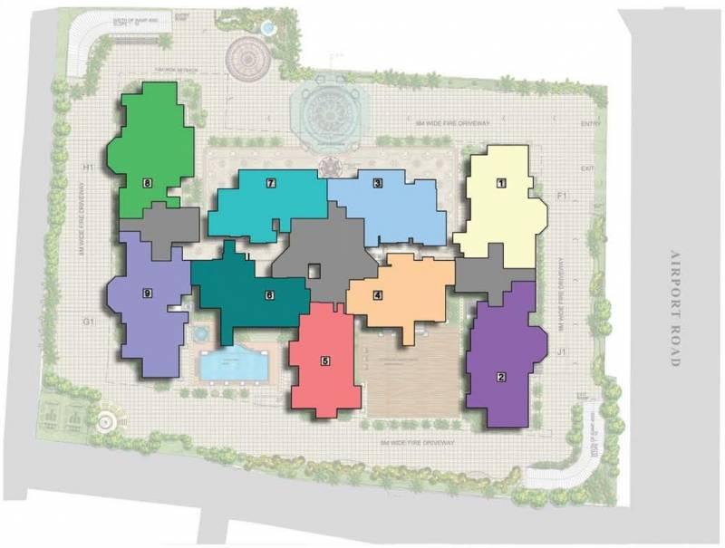 Images for Layout Plan of Prestige Leela Residences