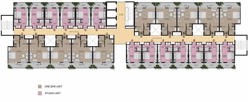 Images for Cluster Plan of Unnati Vesta Suites