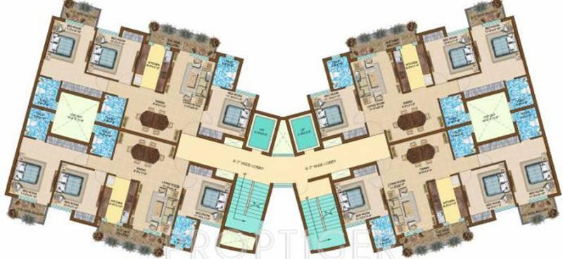 royal-residency Block A Cluster Plan
