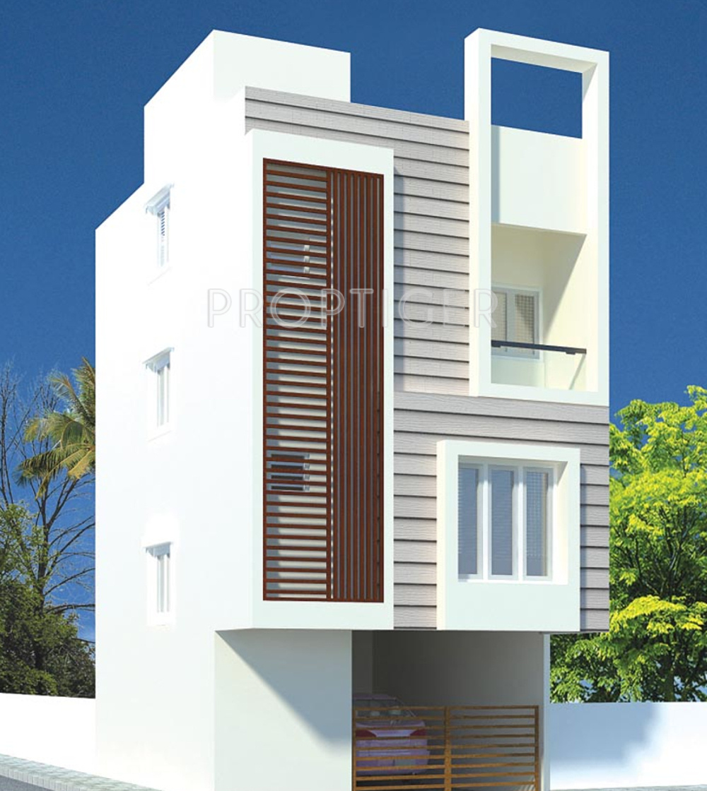 Stone Elevation Cost : Sq ft bhk t villa for sale in value city bricks
